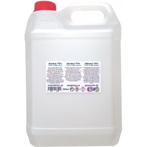 Chirurgische alcohol (70%) Navulverpakking 5 liter