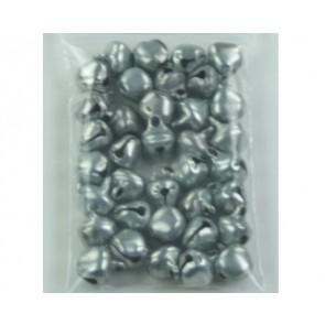 Hanger belletjes zilver ± 35 stuks