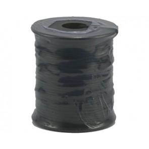 Waxkoord zwart Ø 1mm