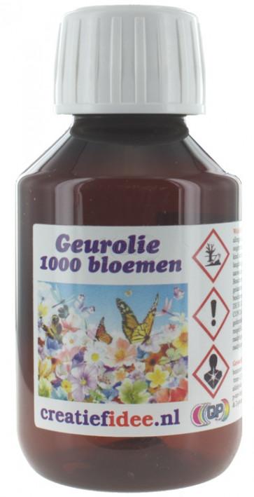Parfum / geurolie 1000 bloemen 1 liter (Alleen voor Decoratie)