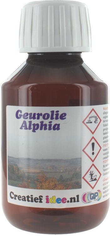 Parfum / geurolie Alpiha (aanrader) 100ml