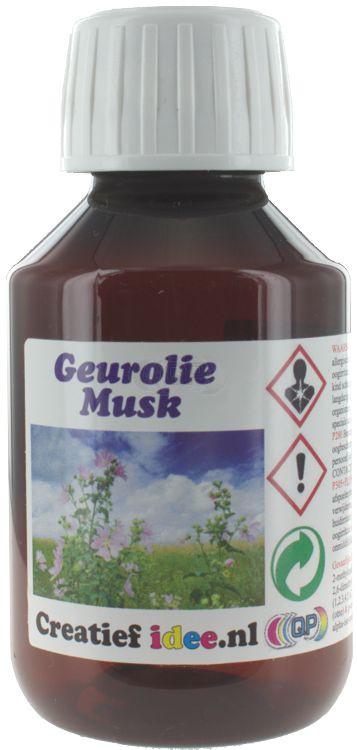 Parfum / geurolie Musk 1 liter (Alleen voor Decoratie)