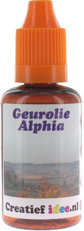 Parfum / geurolie Alpiha (aanrader) 30ml