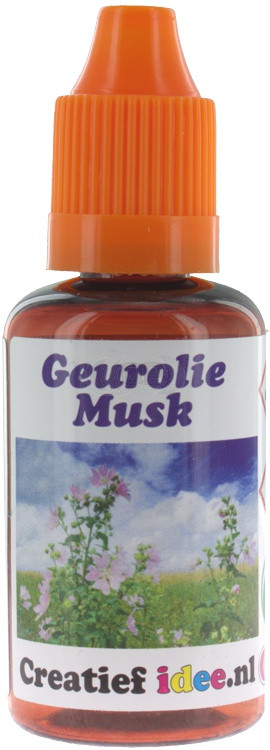 Parfum / geurolie Musk 30ml (Alleen voor Decoratie)