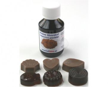 Kleurstof: bruin 100ml (zeep & cosmetica geschikt)