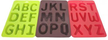 QP0003S siliconen mal: alfabet