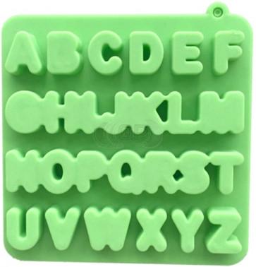 QP0110S siliconen mal: Alphabet