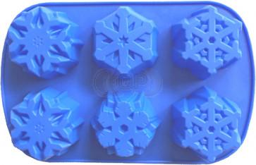 QP0112S siliconen mal: Sneeuwvlokken