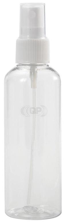 100 ml spray flesje transparant met vinger verstuiver / spraykop (Boston model)