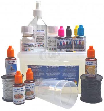 Glycerine gietzeep startpakket 4: allround