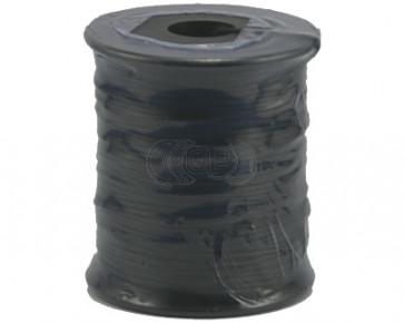 Waxkoord zwart Ø 1mm 70 meter