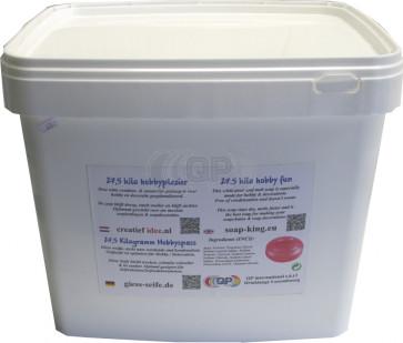 Glycerine gietzeep condens & zweetvrij* 15 kilo transparant