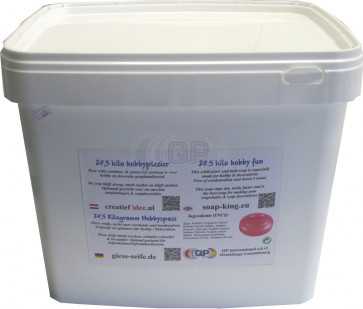 Glycerine gietzeep condens & zweetvrij* 25 kilo wit