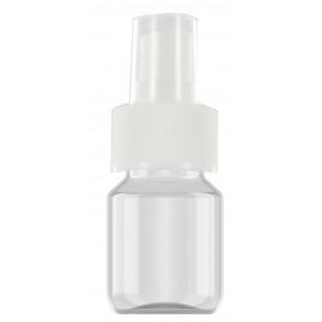 30 ml spray flesje transparant met verstuiver / spraykop (verstuiven van o.a. alcohol)
