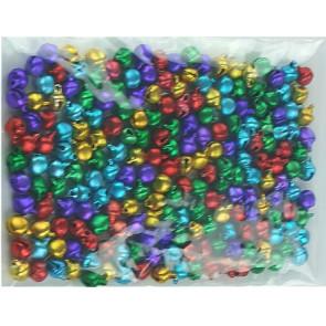 Hanger belletjes kleurenmix ± 200 stuks 6mm