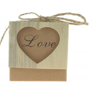 Cadeauverpakking Love 5 stuks (5*5*5 cm)