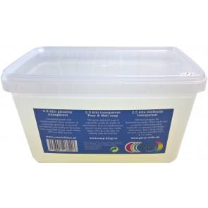 Gietzeep condens & zweetvrij Glycerine basis* 2,5 kilo transparant