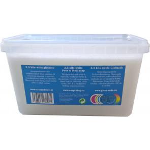 Gietzeep condens & zweetvrij Glycerine basis* 2,5 kilo wit