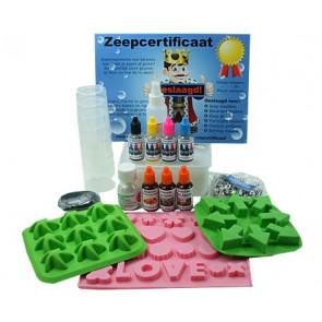 Glycerinezeep kinderfeestje decoratie zeepketting maken pakket tot 6 kinderen