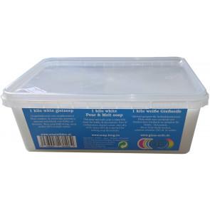Glycerine gietzeep condens & zweetvrij* 1 kilo wit