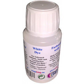 Professionele kleurstof non bleeding: wit (zeep & cosmetica geschikt)