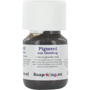 Professionele kleurstof non bleeding: ultra zwart 30ml (zeep & cosmetica geschikt)