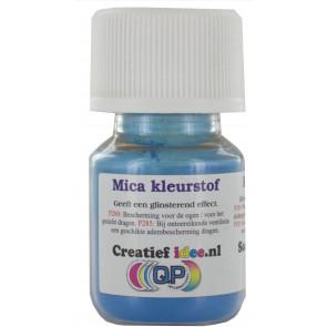 Mica pigment Ocean Blue poeder ±20ml