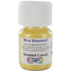 Mica pigment Caribian Yellow poeder ±20ml