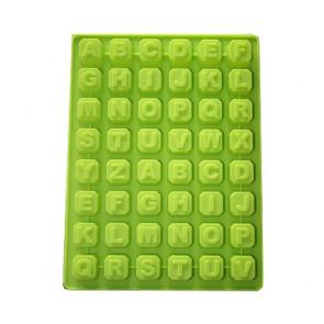 QP0001S siliconen mal: alfabet + cijfers