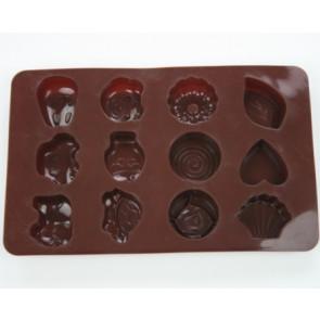 QP0035S siliconen mal: bonbons 1