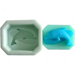 QP0069S siliconen mal: Dolfijn